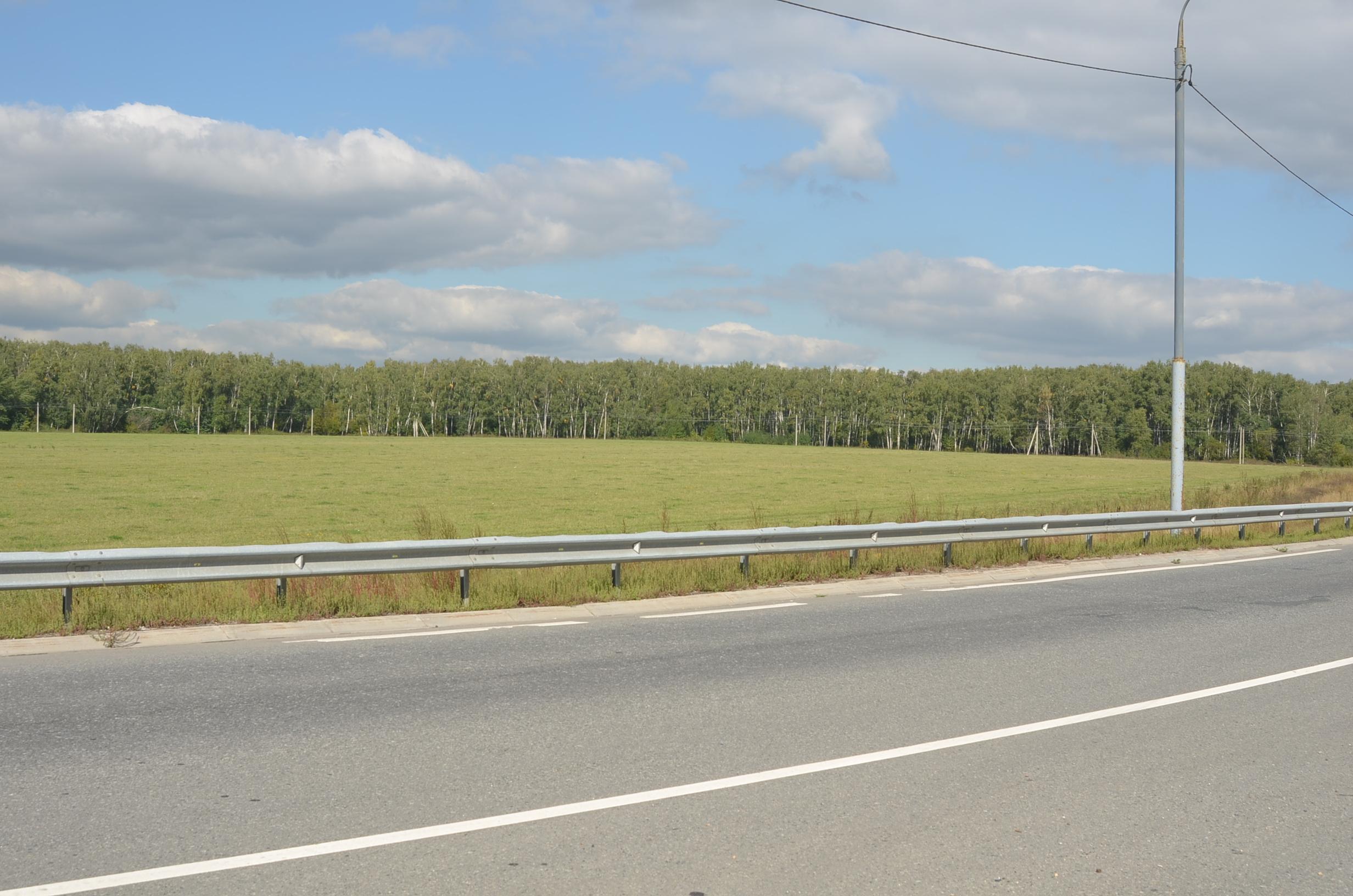 """Индустриальный парк """"Коледино"""" Вид на место строительства дублера М2"""